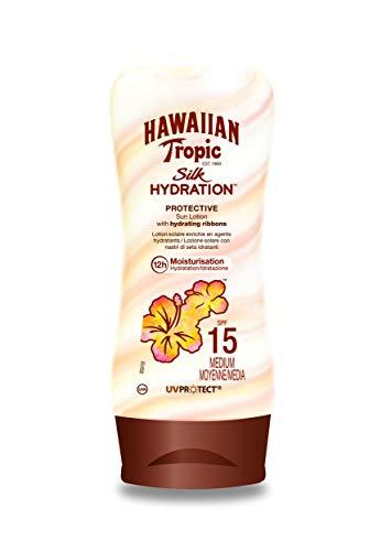 Hawaiian Tropic Silk Hydration Protective Sun Lotion Sonnencreme LSF...