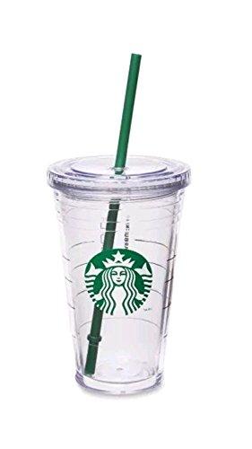 Starbucks Cold Cup Becher für kalte Getränke, groß, 473 ml