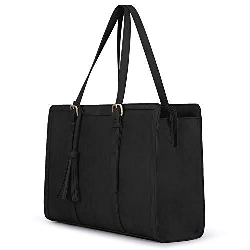 ECOSUSI Laptoptasche 15,6 Zoll Aktentasche Damen Groß Handtasche...