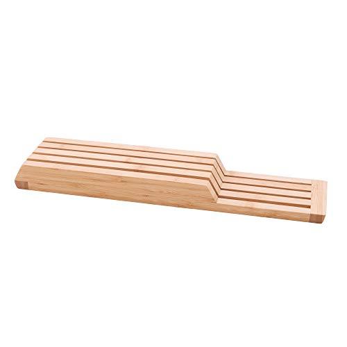 Point-Virgule Schublade Messerblock ohne Messer aus Bambus Holz,...