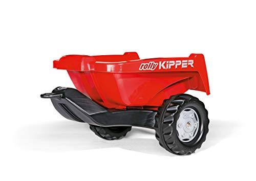 Rolly Toys rollyKipper II für Kinderfahrzeuge (rot, für Kinder von...