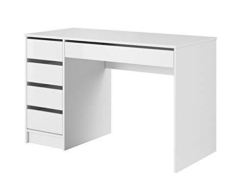 Mirjan24 Schreibtisch Ada, 5 Universale Schubladen...