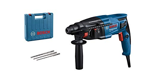 Bosch Professional Bohrhammer GBH 2-21 (mit SDS plus, inkl. 3x Drill...