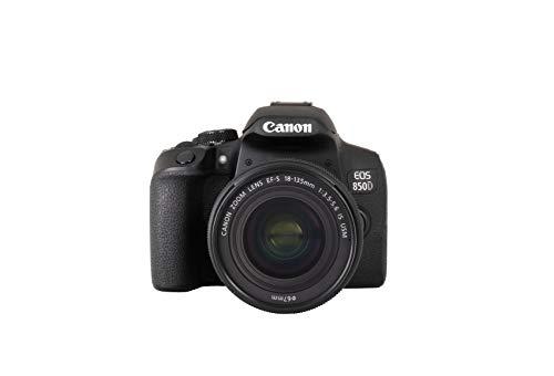 Canon EOS 850D DSLR Digitalkamera Gehäuse - mit Objektiv EF-S...