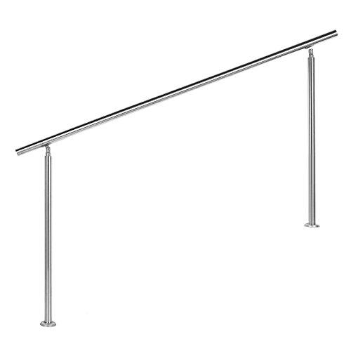 Treppengeländer Edelstahl 180cm Brüstung Handlauf Geländer Treppe