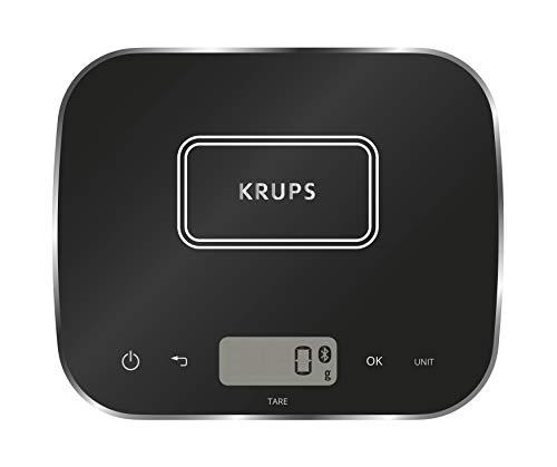 Krups XF5548 Prep&Cook Küchenwaage (Bluetooth, kompatibel mit...