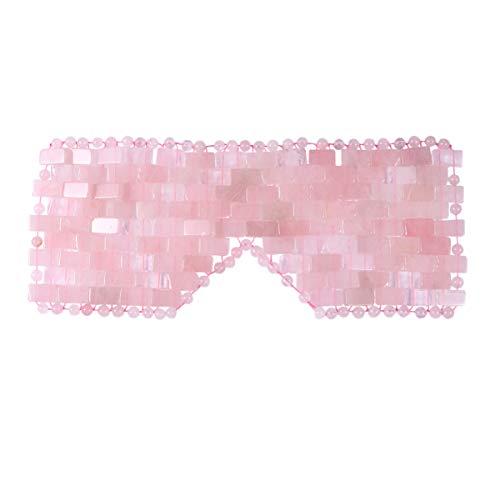 Exceart Natürliche Jade Schlafmaske Augenbinde Jade Augenmaske...