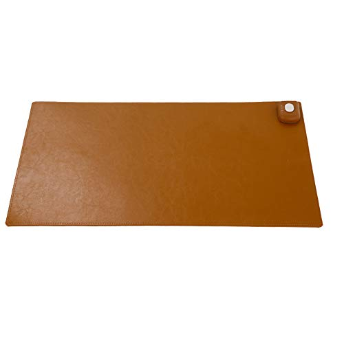 Warm Desk Pad Mit Dual Temperaturregelung, Extended Edition PU Große...