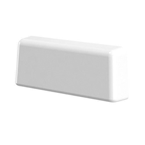B-H Wasserschlitzkappen Standard Weiss RAL 9016 für Schlitzfräsungen...
