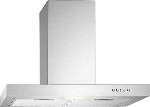 Bomann DU 7600 IX Dunstabzugshaube/ 60 cm Breite/Umluft- oder...