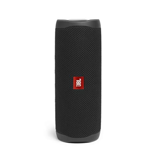 JBL Flip 5 Bluetooth Box in Schwarz – Wasserdichter, portabler...