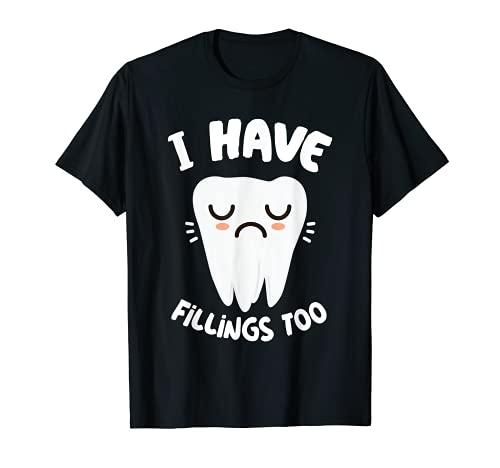 Zahnarzt-Zahn-Füllungen Lustiges zahnmedizinisches Hemd
