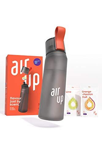air up® Starter-Set - 1 x Trinkflasche BPA-freies Tritan 650 ml 2 x...