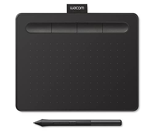 Wacom Intuos S Stift-Tablett - Mobiles Zeichentablett (zum Malen &...