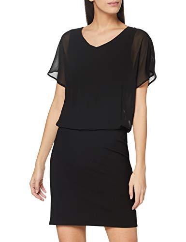 ESPRIT Damen 110EE1E320 Kleid, 001/BLACK, 40