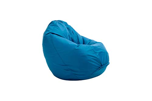 Bruni Sitzsack Classico L in Blau – XL Sitzsack mit Innensack zum...