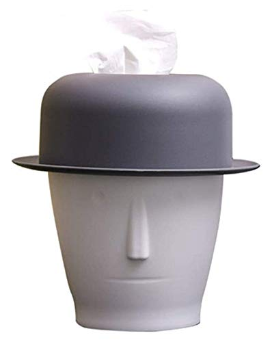 WQQLQX Statue Abstrakte Charakter Kopf Tissue Box Kunst Statue...