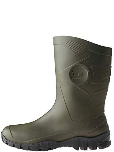 Dunlop Protective Footwear Unisex-Erwachsene Dee Gummistiefel, Grün...