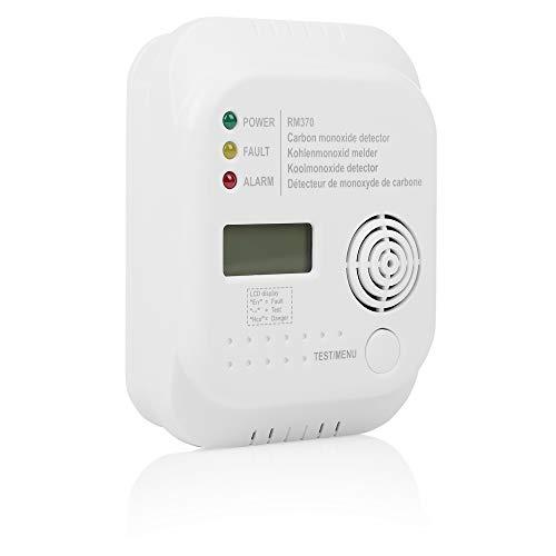 Smartwares RM370 Kohlenmonoxid CO Melder mit Display und...