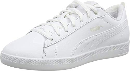 PUMA Damen Puma Smash Wns V2 L Sneaker, Weiß Puma White Puma White,...