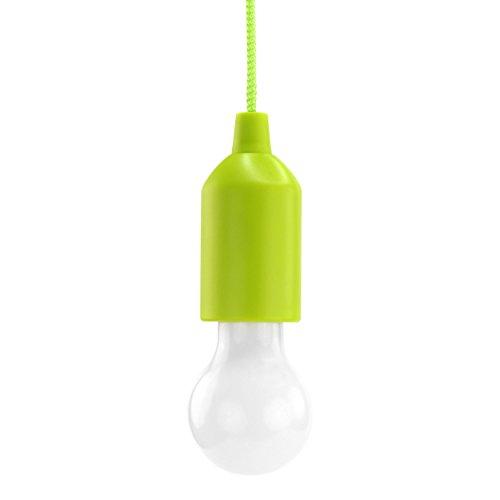 HyCell Pull Light in grün mit Zugschalter inkl. AAA Batterien -...