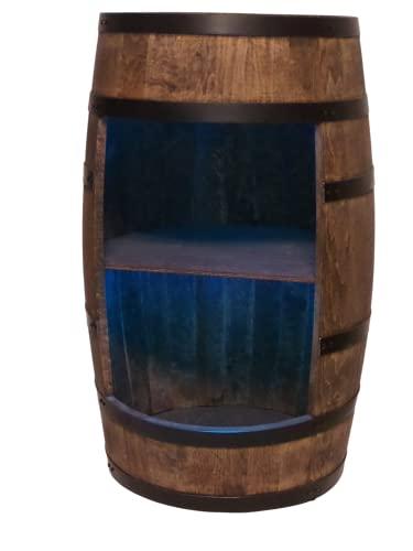 Weinregal Holz - Weinschrank Mini Bar - Alkohol Schrank Mann -...