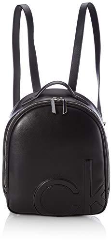 Calvin Klein Damen ROUND BP SM ZUBEHÖR, Black, One Size