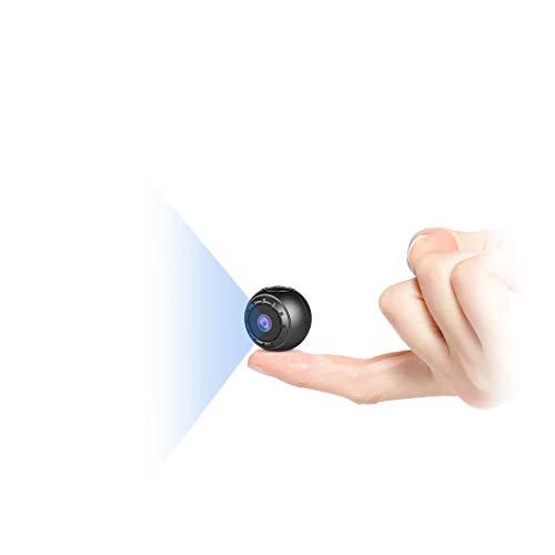 Mini Kamera Bewegungserkennung,MHDYT Full HD 1080P Mini Cam, Mikro...
