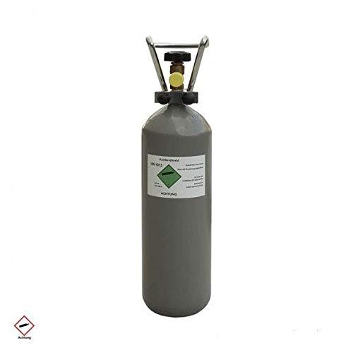2 kg CO2 Gasflasche Kohlensäure Aquaristik Bar Zapf-Anlage Flasche...