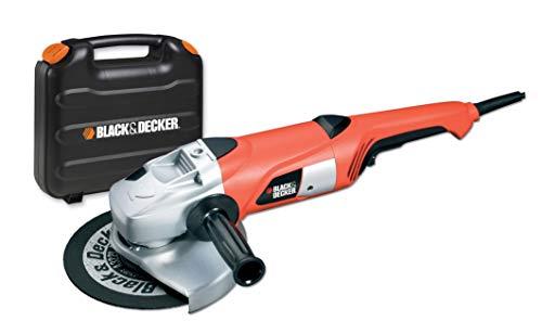 Black+Decker KG2000K Zweihand-Winkelschleifer (2.000 Watt, 230 mm...