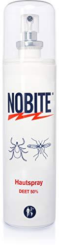 NOBITE Hautspray, Insektenschutzspray zum Auftragen auf die Haut (100...