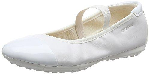 Geox Mädchen JR Piuma Ballerine C Geschlossene Ballerinas, Weiß...