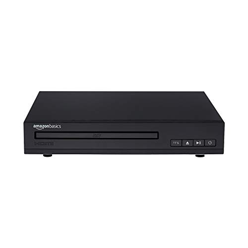 Amazon Basics Mini-DVD-Player mit Text-to-Speech-Technologie,...