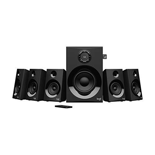 Logitech Z607 5.1 Surround Sound Lautsprecher (Bluetooth, CINCH, 160 W...