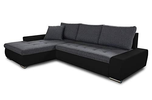 Ecksofa mit Schlaffunktion Faris - Couch mit Bettkasten, Big Sofa,...
