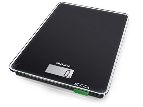 Soehnle Page Compact 100, digitale Küchenwaage, Gewicht bis zu 5 kg...