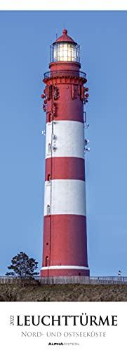 Leuchttürme - Nord- und Ostseeküste 2022 - Streifenkalender XXL...