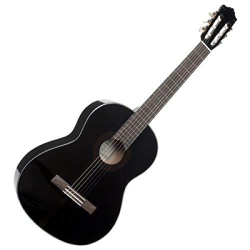 Yamaha C40BLII Akustikgitarre schwarz – Hochwertige Akustikgitarre...