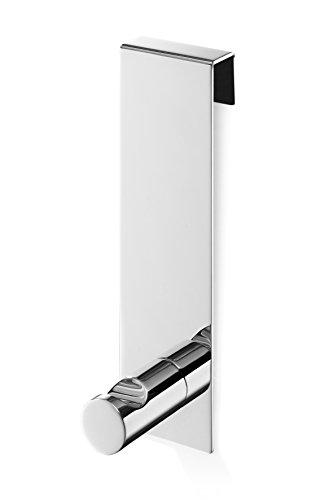 ZACK 40089 'BATOS' Haken für Glasduschwand, Edelstahl hochglänzend