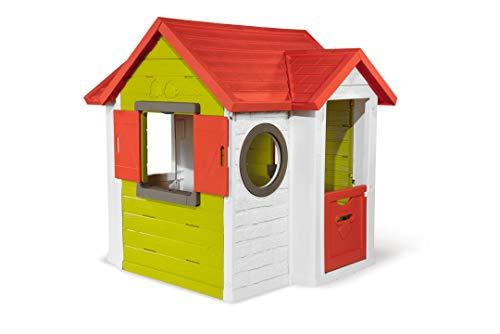 Smoby 810404 - Mein Neo Haus - Spielhaus für Kinder für drinnen und...