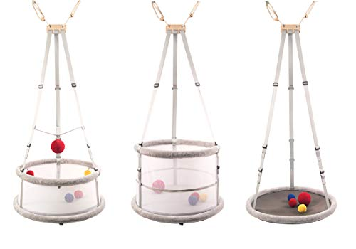 Memola® Home: 3 in 1 Babywiege Babyschaukel Wiege Laufstall Schaukel...