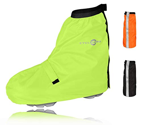 CYCLEHERO Fahrrad Regenschutz Schuhe - Premium Design, Optimaler Halt...