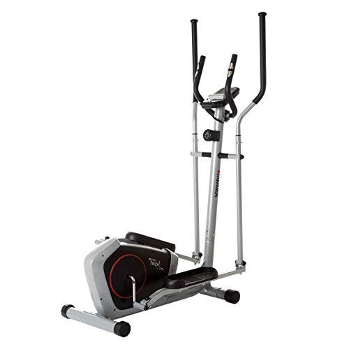 HAMMER Crosstrainer CT3, kompakt und platzsparend, Smartphone- und...
