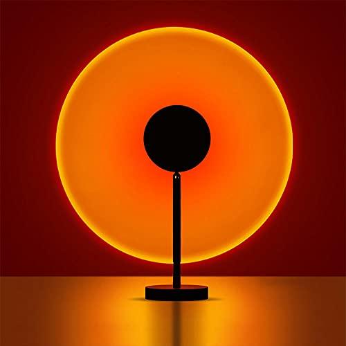Sunset Lamp,Sonnenuntergangslampe,180°Drehung Sunset Projection Lamp...