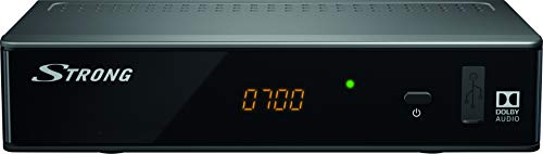 STRONG SRT 8541 DVB-T2 Receiver, freenet-TV Full HD (HDMI, LAN, SCART,...