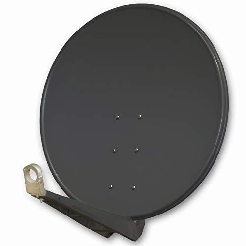 PremiumX DELUXE100 Satellitenschüssel 100 cm Sat Schüssel aus...