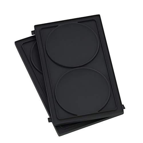 WMF LONO Snack Master Zubehör, Pancake Platten-Set, 2 abnehmbare...