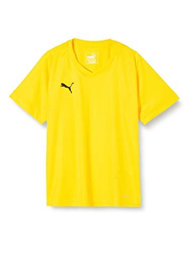 PUMA Unisex Kinder, LIGA Jersey Core Jr T-shirt, Cyber Yellow-Black,...