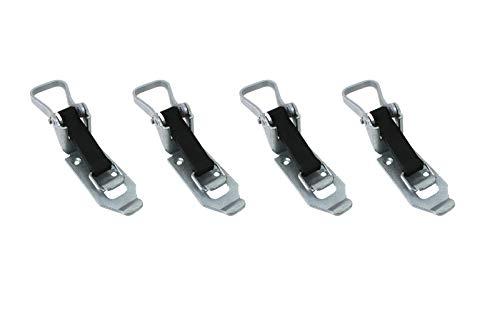 LOADCARE 4X Verschlusslager 60mm Schaufelhalter Spatenhalter Axthalter...