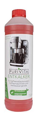 Purivita - Flüssiger Entkalker mit 750 ml - kompatibel mit allen...